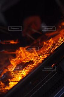 焼肉は火力MAXでの写真・画像素材[1757694]