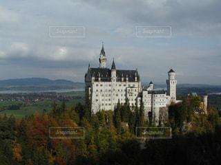 自然,風景,紅葉,山,景色,旅行,ドイツ,海外旅行,眺め,観光名所,ノイシュヴァンシュタイン城