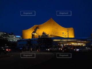 夜景,街,旅行,ドイツ,ベルリン,海外旅行,コンサートホール,観光名所,フィルハーモニー