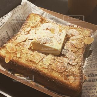 バターデニッシュトーストの写真・画像素材[1949184]
