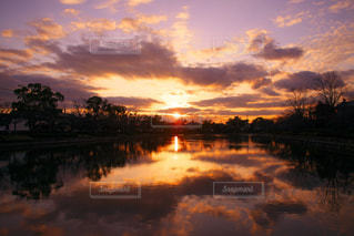 ある日の夕暮れの写真・画像素材[1860490]