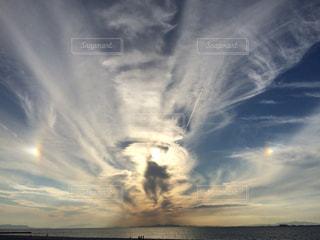 不思議な空。の写真・画像素材[1861409]
