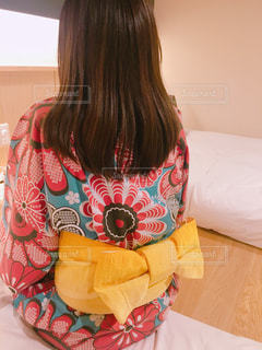温泉,黄色,浴衣,女子旅,宿