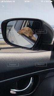 車の側面鏡の写真・画像素材[2705561]