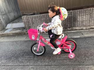 自転車🚲練習☺️❣️の写真・画像素材[1788877]