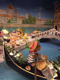 ぬいぐるみ,人形,旅行,おもちゃ,クマ,ティディベア,ミルクティー色,ティディベア博物館