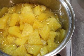 黄色,ビタミンカラー,パイナップル,イエロー,色,黄,ジャム作り