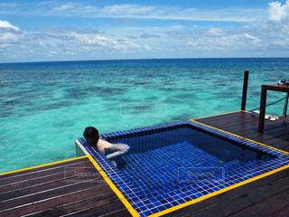風景,海,モルディブ,綺麗,プール,景色,海外旅行,新婚旅行