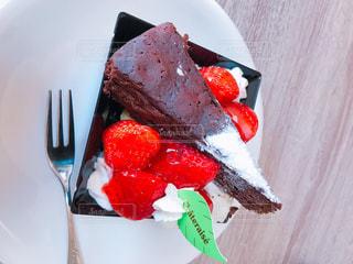 ケーキ,おやつ,可愛い,甘い,美味しい,ショコラ,イチゴ,フレッシュフルーツ