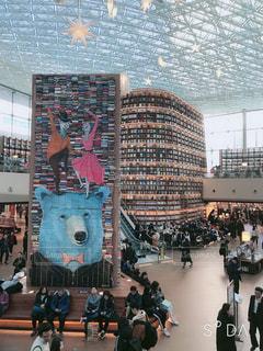 本,図書館,観光,韓国,海外旅行,ソウル,韓国旅行
