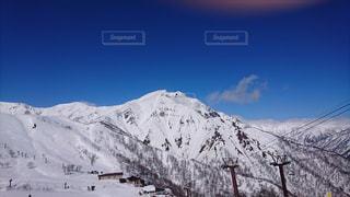 冬の谷川岳の写真・画像素材[1783910]