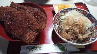 福井県定番メニュー ソースかつ丼 おろし蕎麦セットの写真・画像素材[1794950]