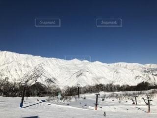 五竜スキー場の写真・画像素材[1832015]