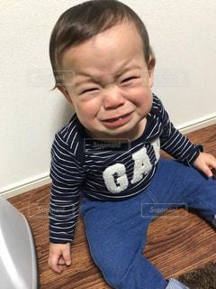 泣いている赤ちゃんの写真・画像素材[1788725]
