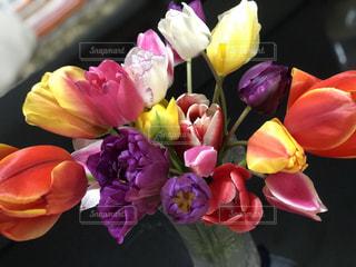 花のクローズアップの写真・画像素材[2141595]