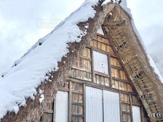 雪に覆われた建物の写真・画像素材[1767696]