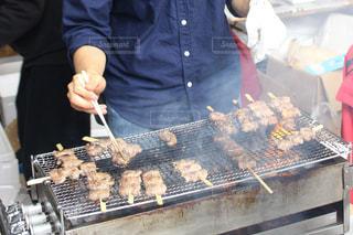 祭りの串焼きの写真・画像素材[1798802]