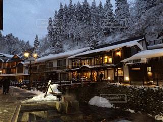 雪景色が似合う場所の写真・画像素材[1786268]
