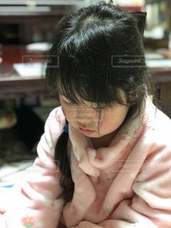 クローズ アップの女の子のの写真・画像素材[1807742]