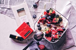 ケーキ,いちご,ブルーベリー,チョコレート,バレンタイン,フードスタイリング