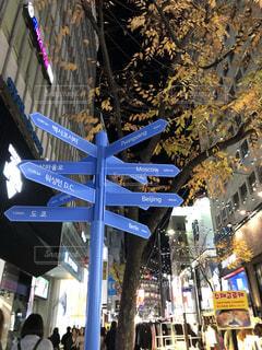 看板,標識,都会,韓国,海外旅行