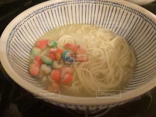 食べ物,食事,カラフル,そうめん,料理,日本食,麺,器,和,陶器,食,どんぶり,素麺