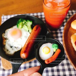 朝食,パン,朝ごはん,ソーセージ,フランクフルト,ジョンソンヴィル