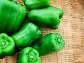 食べ物,夏,緑,野菜,いっぱい,食品,ピーマン,健康,料理,おいしい,畑,好き,ビタミン,食材,フレッシュ,ベジタブル,栄養,ザル,苦手,体にいい