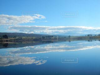 タスマニアの綺麗な湖の写真・画像素材[1814402]