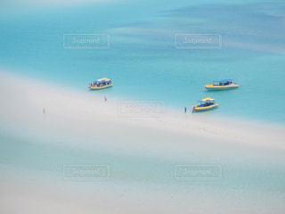 ホワイトヘブンビーチの写真・画像素材[1814413]