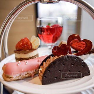 食べ物,ケーキ,ピンク,かわいい,いちご,デザート,ハート,チョコレート,クッキー,甘い,バレンタイン