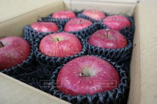 食べ物,屋内,デザート,フルーツ,りんご,果実,甘い,リンゴ,食べ頃,箱詰め