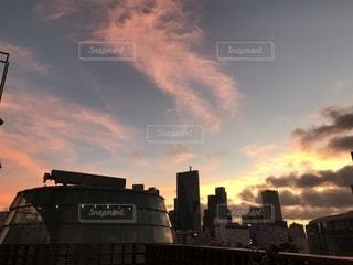 六本木 朝の空の写真・画像素材[1814034]