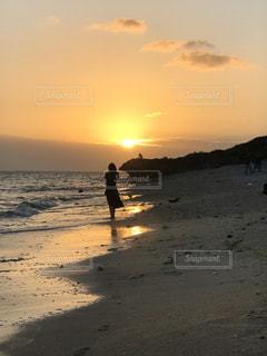 石垣島の夕日の写真・画像素材[2278470]