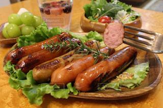 ソーセージのある食事の写真・画像素材[2589254]