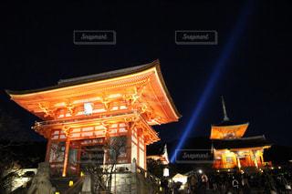 清水寺ライトアップの写真・画像素材[2634979]