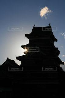 城と光の写真・画像素材[2679648]