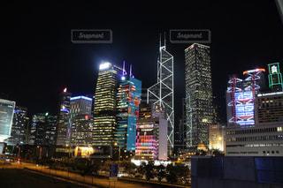 香港の夜景の写真・画像素材[2743350]