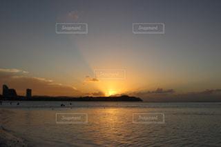 自然,風景,空,屋外,太陽,ビーチ,夕暮れ,水面,海岸,光,旅行,グアム,日中