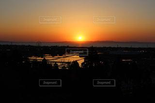 自然,風景,海,空,夕日,屋外,太陽,夕暮れ,水面,光,富山,日本海,富山湾