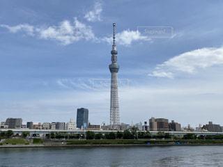隅田川と東京スカイツリーの写真・画像素材[3348963]