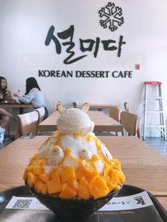 うさぎ,マンゴー,オレンジ,果物,韓国,かき氷,バナナ
