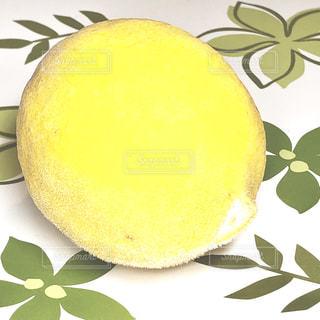 食べ物,黄色,葉,鮮やか,果物,大きい,レモン,アップ,テーブルクロス,新鮮,フレッシュ,緑色,冷凍,檸檬,ズームアップ,れもん