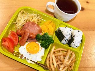 休日の朝食の写真・画像素材[1792210]