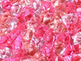 キラキラ光るピンク色の写真・画像素材[1792762]