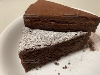 ケーキ,お菓子,バレンタイン,ガトーショコラ,チョコ,手作り,生チョコケーキ