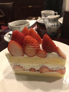 ケーキ,いちご,果物,旬,フレッシュ,ショートケーキ