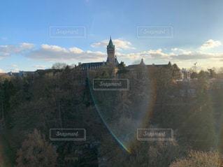 屋外,城,光,美しい,海外旅行,ライフスタイル,ルクセンブルク,レジャー・趣味