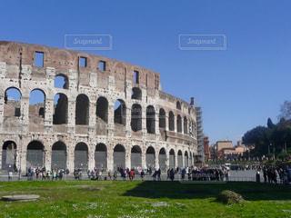 建物,屋外,青空,ローマ,観光,旅行,イタリア,海外旅行,コロッセオ