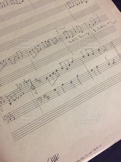 楽譜,手書き,ポピュラー
